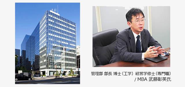 管理部 部長 / MBA 武藤彰英氏様