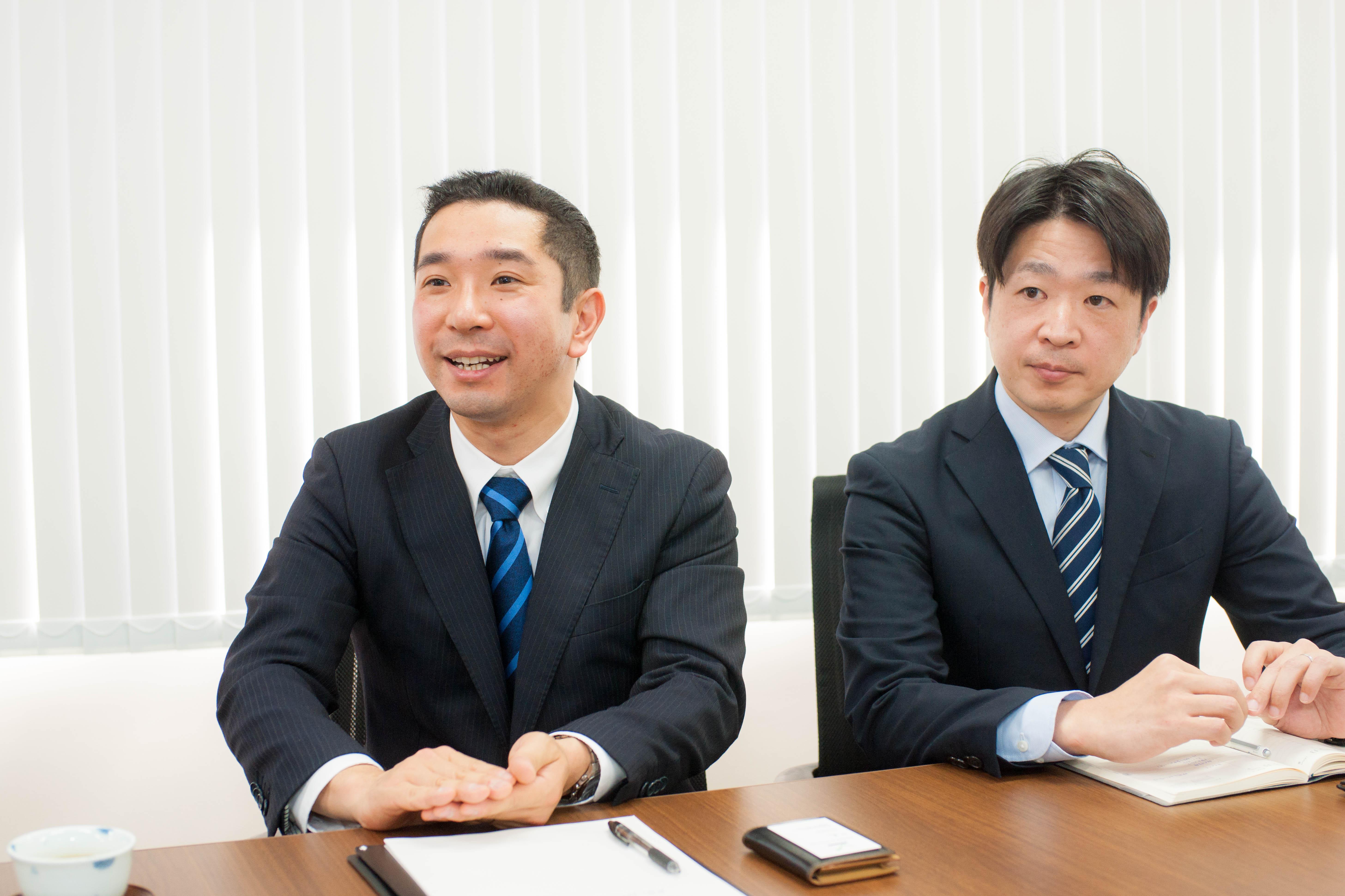 ガルベラ・パートナーズ<br>代表社員 渡邊先生・小山先生