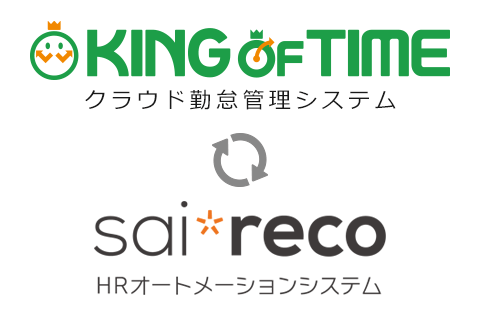 KING OF TIME x saireco 連携