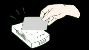 ICカードリーダー(専用端末・液晶なし)